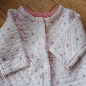 Other - Quilted floral sweater/jacket